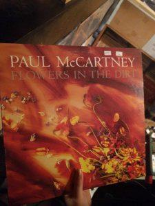 "Paul McCartney record ""Flowers in the Dark"""