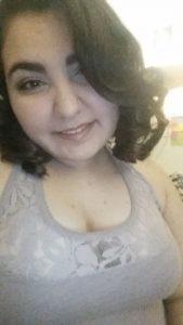 Selfie-style photo of Natalie Sousa