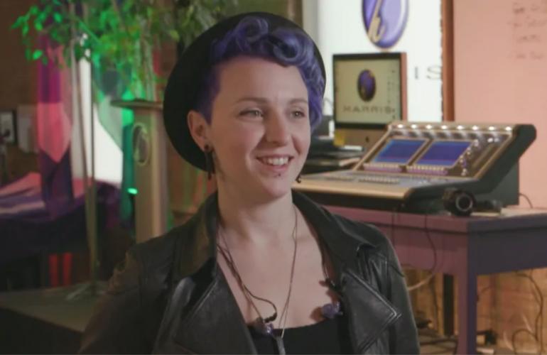 Sound technician and teacher Allyssa Rawes